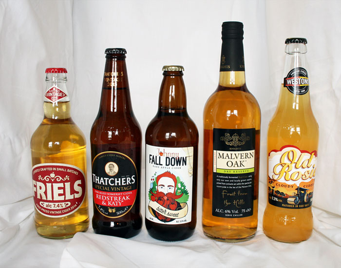 Ciders (abv 5.5% and above)