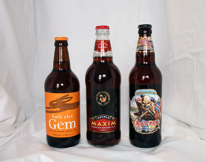 Ales (abv 4.0% - 4.4%) - Gold and Silver
